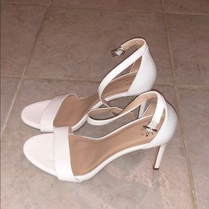 White heels from Target